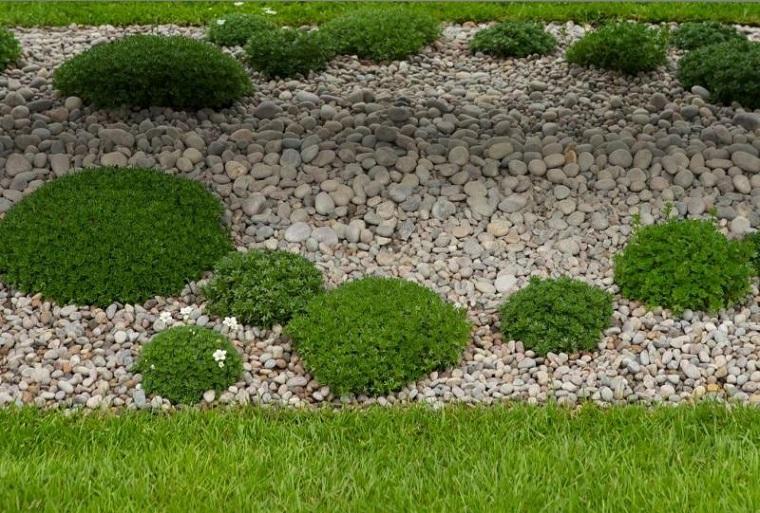 Las arenas y gravillas m s adecuadas para decorar jardines for Jardines cesped y piedras