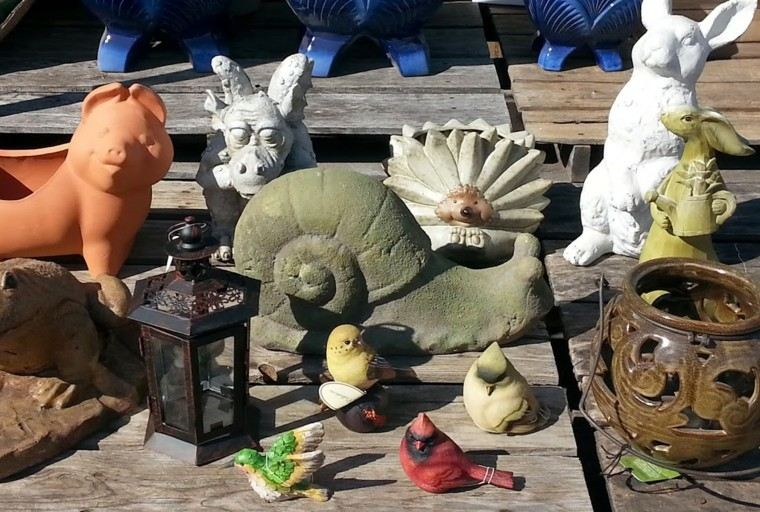 piezas figuras ceramica decorativas