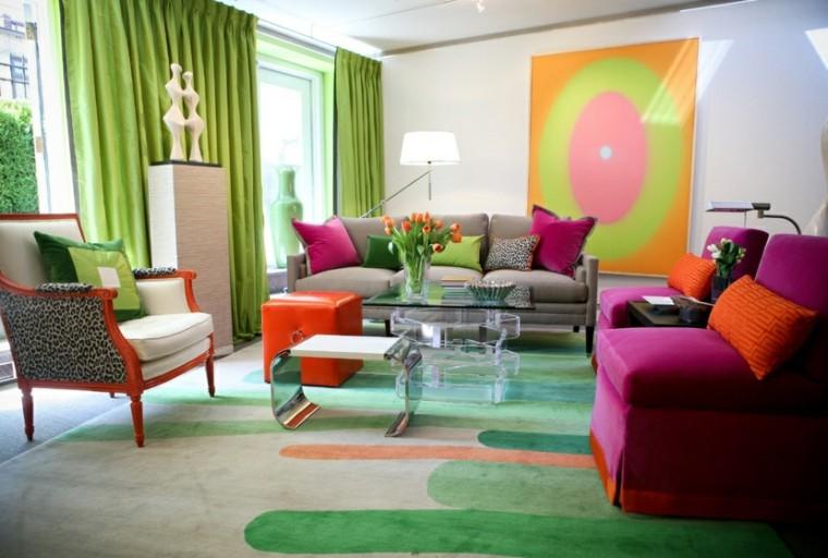 alfombra de diseño con garabatos