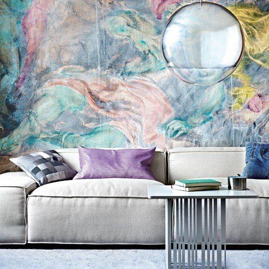 Entretenimiento y diversi n en tu sal n con colores - Pintura paredes salon ...