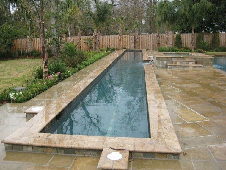 piscina jardin patio suelo diseño