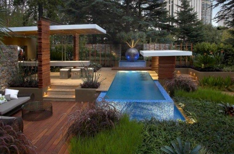 piscina patio esfera cojines led
