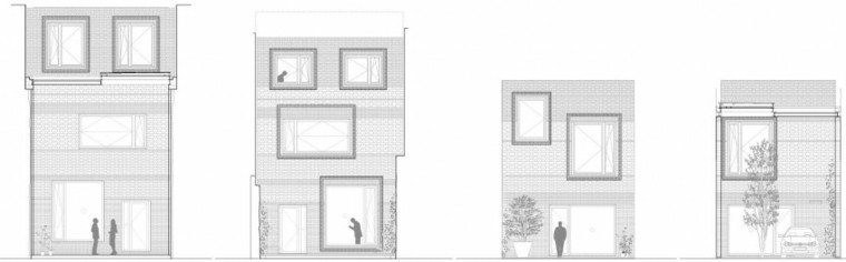 plano elevacion la casa 1014