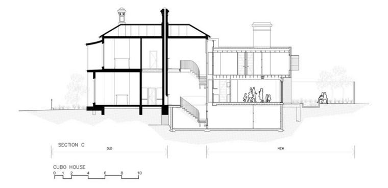 plano imagen casa dos pisos ideas arquitectos