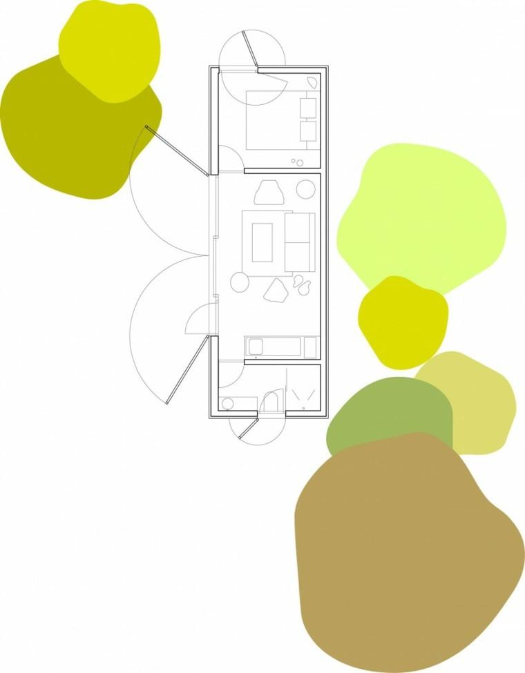 plano casa sitio lugar macro