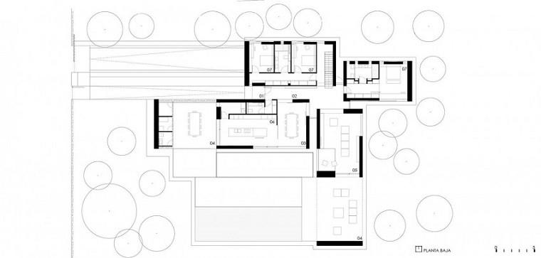 plano casa sitio suelo macro