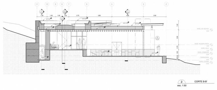plano de seccion numero 2