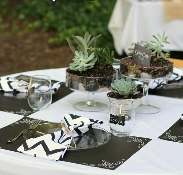 plantas decorativas centros mesa