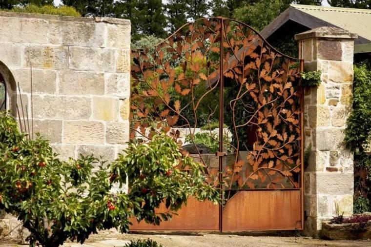 puerta estilo romantico acabados preciosos ideas