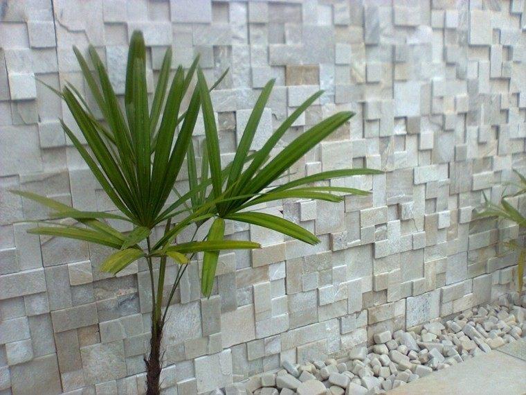 Revestimiento de paredes exteriores 50 ideas for Mosaico ceramico exterior