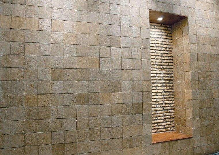 Revestimiento de paredes interiores creatividad y estilo - Revestimiento paredes exterior ...