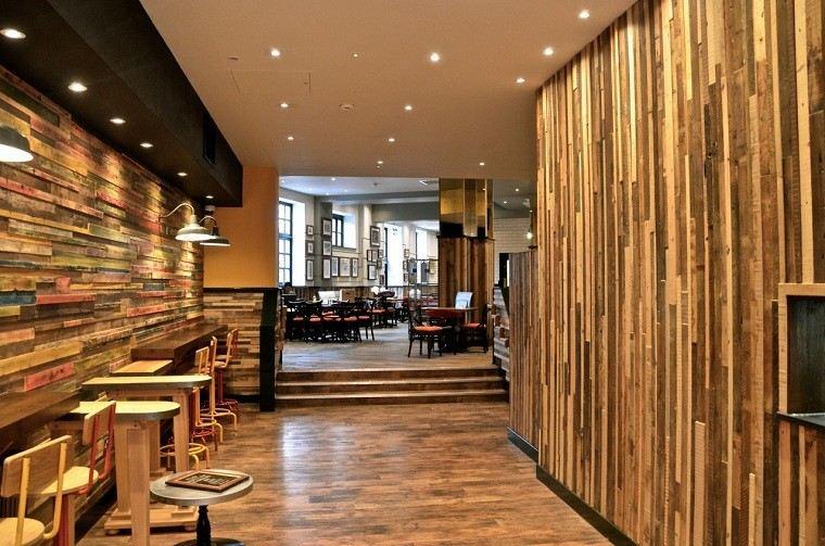 Revestimiento de paredes interiores creatividad y estilo - Revestimiento de interiores ...