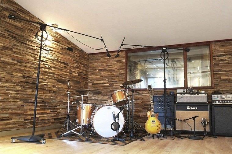 roca panel musica piedras simuladas