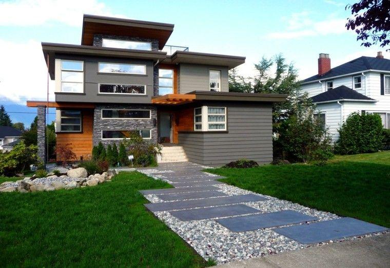 rocas blancas casa diseño moderno