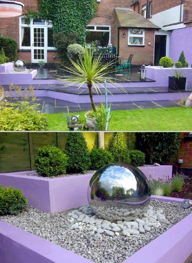 rocas esfera colorido casa accesorios