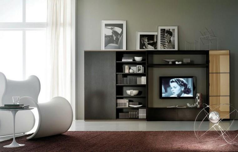 Muebles de salon modernos y funcionales menos es m s - Tiempos modernos muebles ...