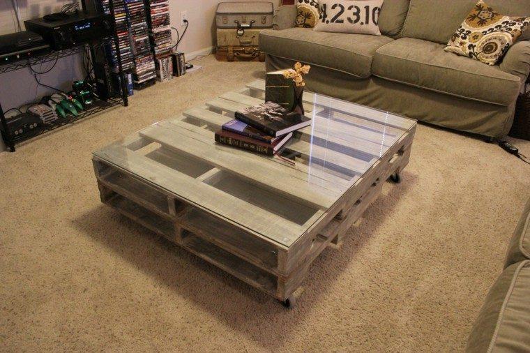 muebles hechos con palets 100 ideas para el hogar. Black Bedroom Furniture Sets. Home Design Ideas