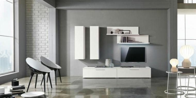 salon estilo industrial color gris