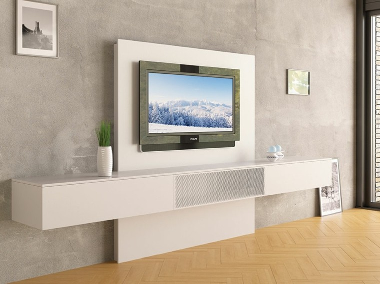 Muebles para tv en pared modernos for Muebles para tv contemporaneos