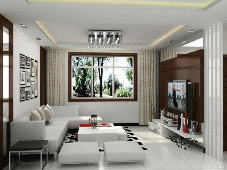 iluminacion indirecta led salon pequeño