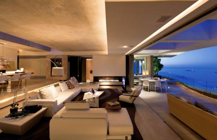 salones diseño calido ambiente terraza