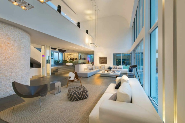 salones diseño mobiliario moderno led