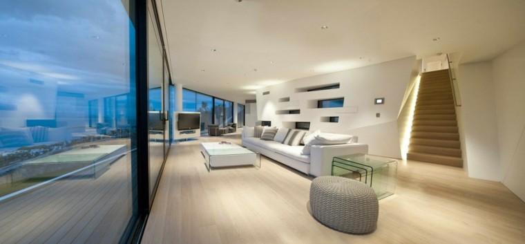 salones diseño ventanas suelo techo terraza