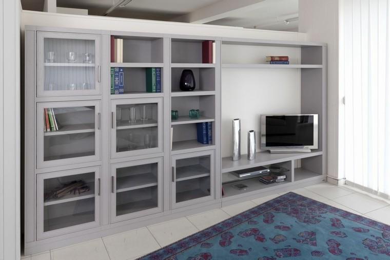 seccion salon moderna color gris