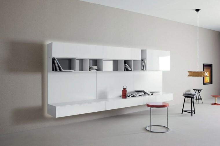 seccion salon color blanco brillo