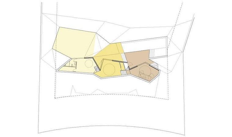 segunda planta plano la casa