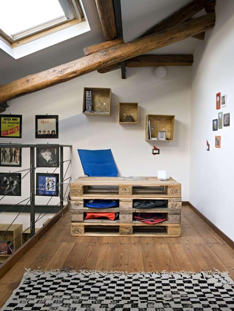 Muebles hechos con palets 100 ideas para el hogar - Oggetti in legno per la casa ...