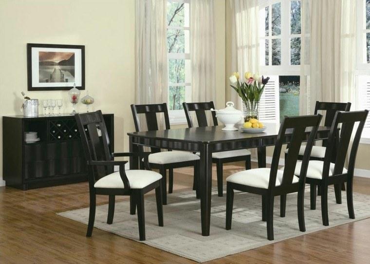 sillas de salón clásicas Sillas De Comedor Modernas Cincuenta Ideas Geniales