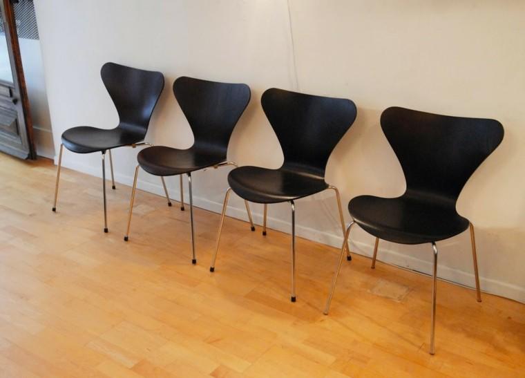 Sillas de comedor baratas modelos bonitos for Modelos de sillas de comedor tapizadas