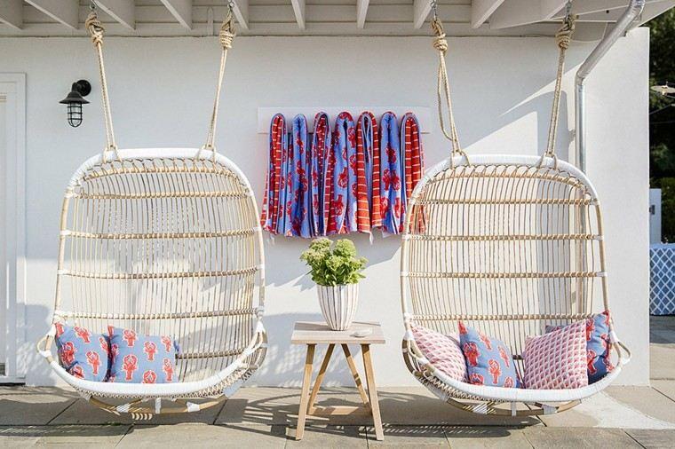 sillas comoda huevo diseño colgantes
