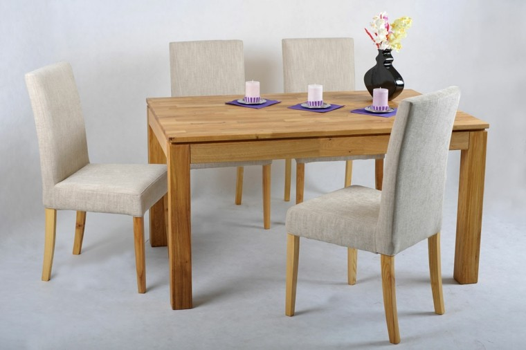 Sillas comedor colores fabulous idea para renovar las for Sillas polipiel beige
