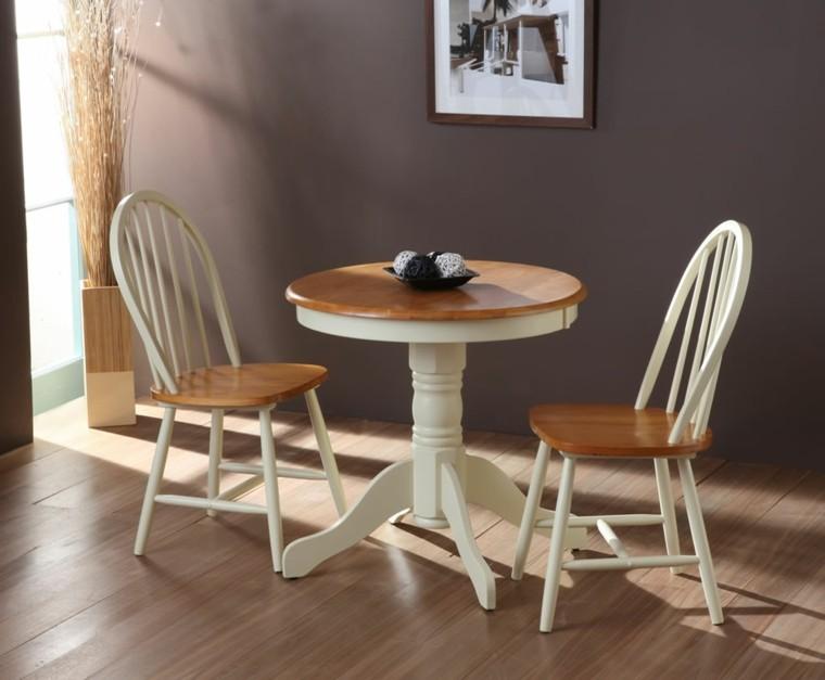 sillas de comedor barratas pequeno estilo ideas