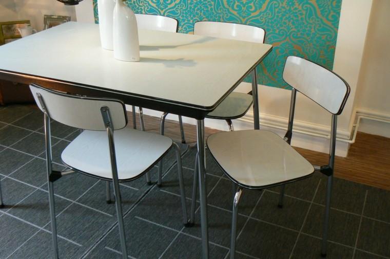 sillas de comedor barratas estilo retro bonito