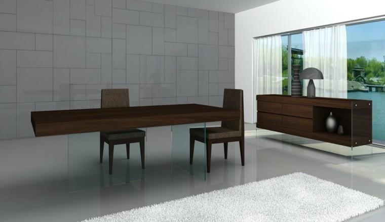 sillas madera comedor estilo moderno