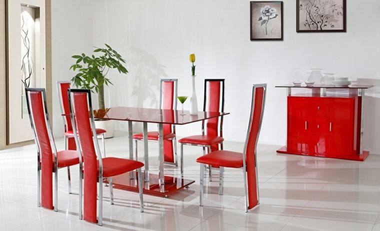 sillas modernas comedor respaldo