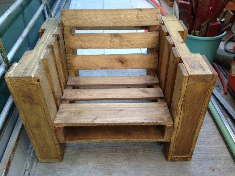 sillon madera creativo pale bajo solido