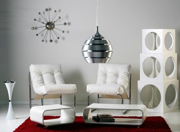 Muebles de salon modernos y funcionales menos es m s - Sillones de diseno moderno ...