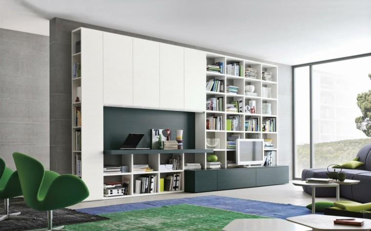 Soggiorni Moderni Lucidi : Muebles de salon modernos y funcionales menos es más