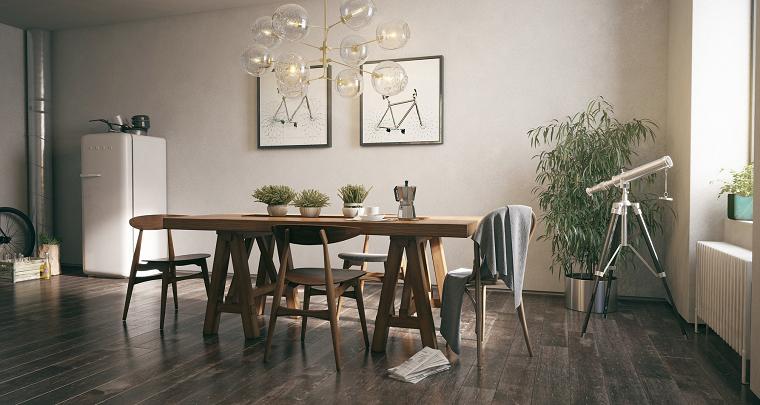 suelo muebles madera estilo rustico precioso ideas
