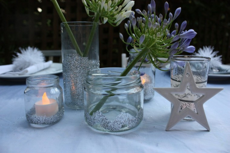 tarros cristal decorativos jardin