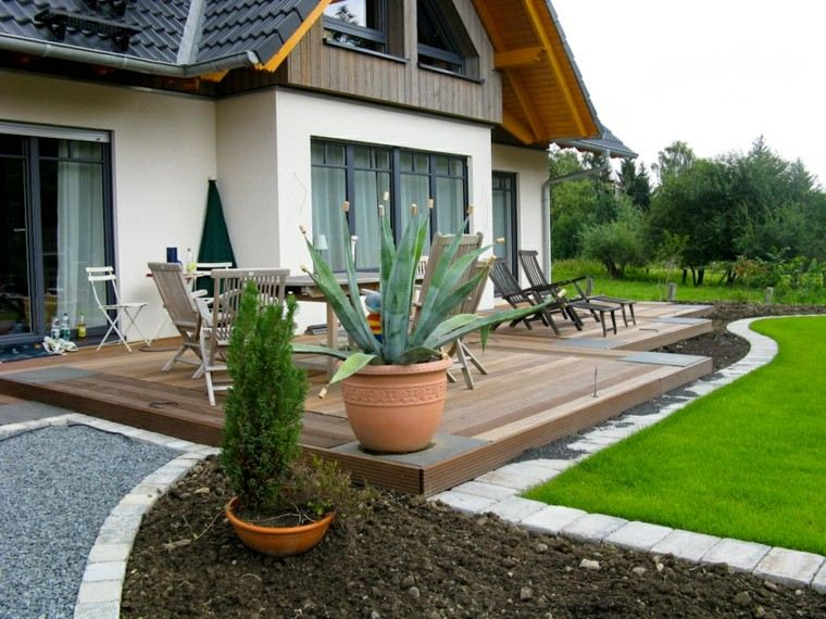 Jardines y terrazas 75 ideas creativas de dise o que inspira - Terraza y jardin ...
