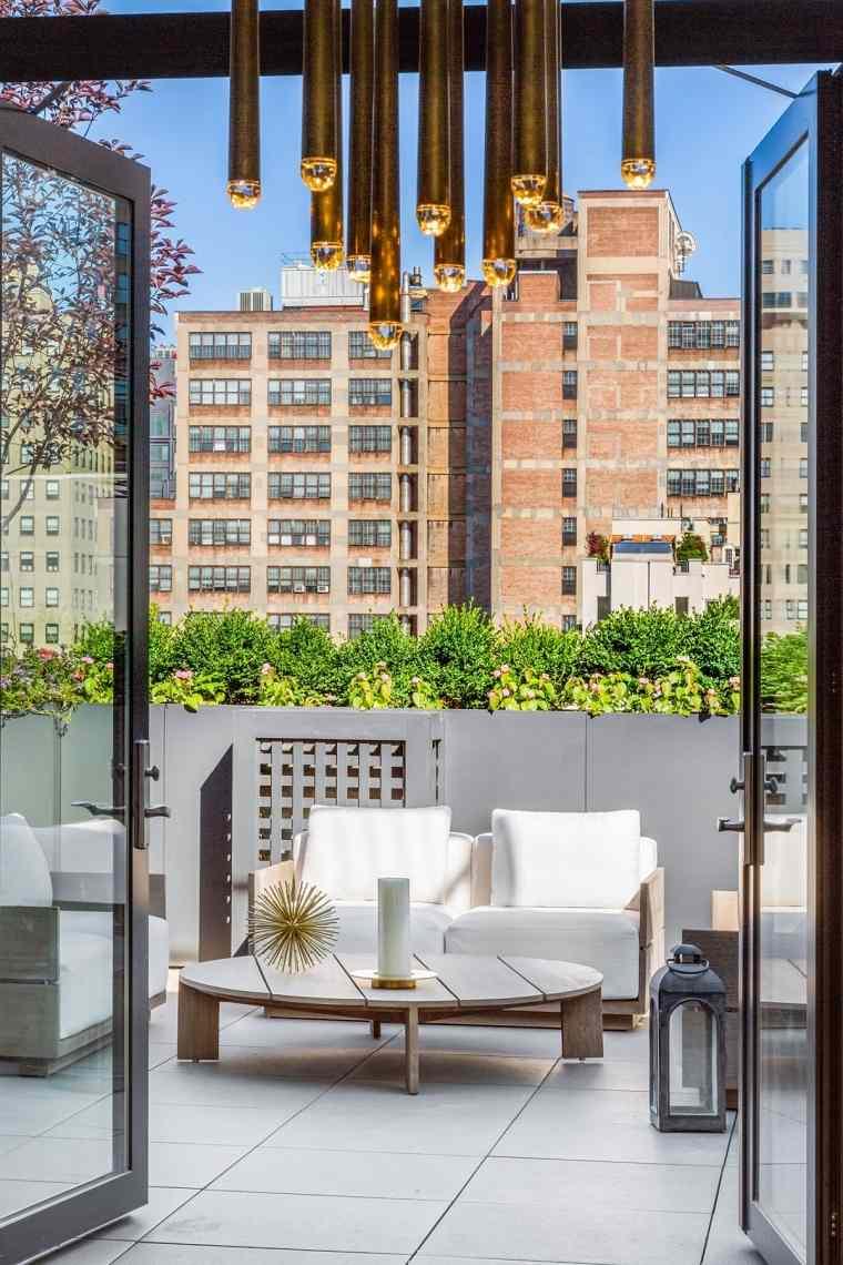 terraza muebles estilo moderno diseno