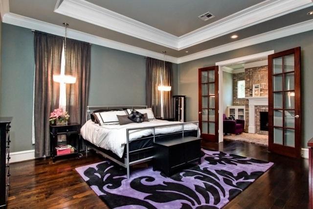 paletade colores purpura negra