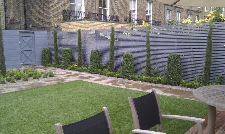 Vallas de madera y vallas met licas para el jard n for Diseno de jardin grande