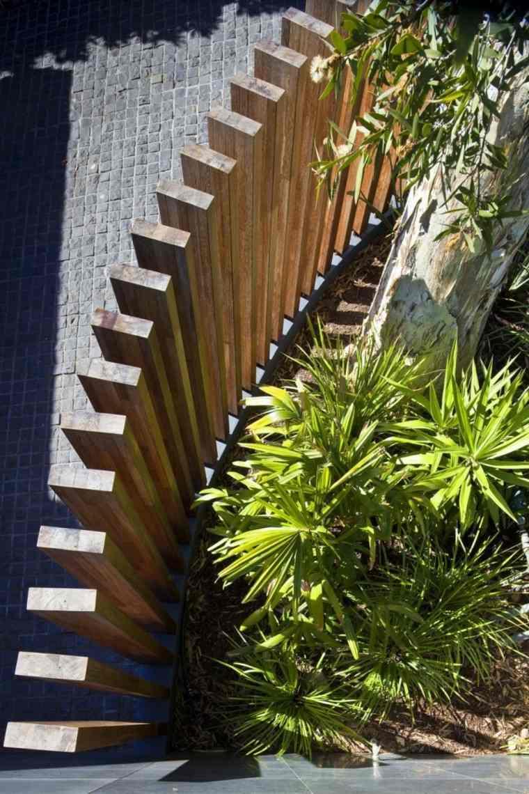 vallas jardin madera idesa bonitas casa moderna