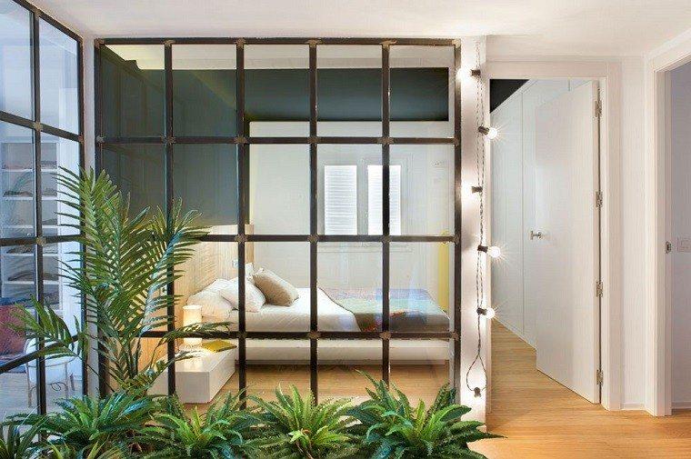 ventanas dormitorio plantas pasillo jardin